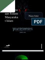 11.Ciri-Ciri Keistimewaan Masyarakat Islam