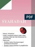 18.Konsep Syahadah Dan ya