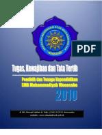 04 Tugas Kewajiban Dan Tata Tertib Sekolah 2009 2010