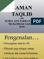 Zaman Taqlid