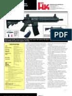 Heckler & Koch HK416 Enhanced Carbine 5.56x45mm NATO