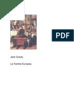 LA Familia Europea Jack Goody
