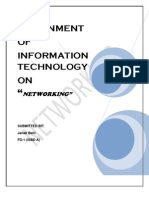 Networking Assignment