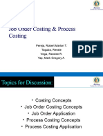 Job Order and Process Costing Updated-randee Latest