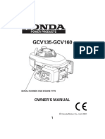 Engine Manual Gcv160
