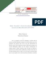 """Hiber Conteris Exilio, """"desexilio"""" y """"desterritorialización"""" en la obra de Benedetti"""