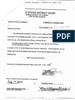 Criminal Complaint - Michael Olaf Schuett - Florida