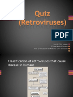 Quiz (Retroviruses)