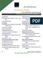 Aircraft Maintenance Training Schools Europe