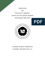Bearing Installation Procedure