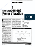 Positive Displacement Pump Vibration