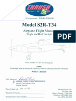 S2R T34 Flight Manual