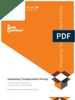 Unpacking Transportation Pricing Final