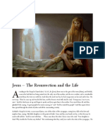 Jesus - The Resurrection and the Life
