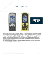Cisco Unified Wireless IP Phone 7925G Series Deployment Guide