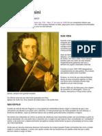 VIOLINO - ARTIGO - Nicolò Paganini