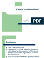 Session 1-Intro to Rdbms-oodbms