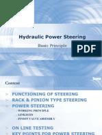 Principle of Power Steering