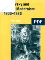 Dostoevsky and English Modernism 1900 1930