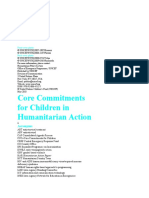 Core Commitments for Children
