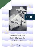Raffia Hat and Bag in Crochet