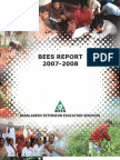 BEES Annual Report 2007-08 edited by Anirudha Alam
