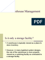 10 Warehouse Management