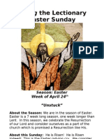 Living the Lectionary - Easter Sunday