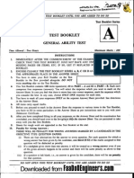 General Aptitude Test - IES 2009 Question Paper