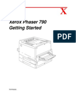 Phaser 790 Getting Started Manual