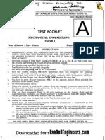 Mechanical Paper i - IES 2010 Question Paper