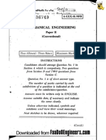 Mechanical Paper II Conventional - IES 2010 Question Paper