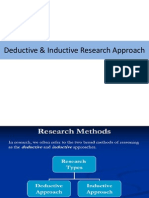 Inductive and Deductive Research