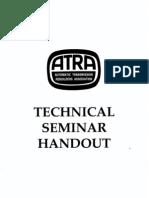 1992 ATRA Seminar Manual