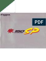 Honda NSR150SP Specifications