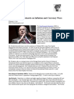 Jim Rickards on Inflation and Currency Wars