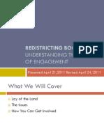 Redistricting Bootcamp-Revised 4-24-11