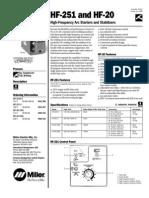 HF 251 D   & RFC 20