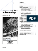 IRS Withholding Worksheets - p919