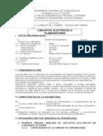 Circuitos Electricos II - 2011 Sem II