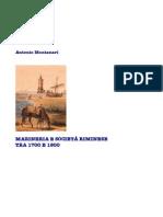 Marineria a Rimini tra 1700 e 1800