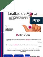 LEALTAD DE MARCA