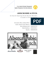 Abercrombie & Fitch Case Study - Strategic Mgt