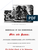 Men and Names of Old Birmingham