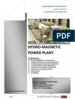 Hydro Magnetic Power Plant