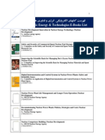 71- Nuclear E-Books List