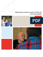 Addressing Societal Causes of HIV Risk and Vulnerability