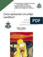 Como apresentar um artigo científico_Rodrigo_2010
