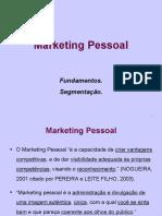 1 Marketing Pessoal Fundamentos Segmentacao