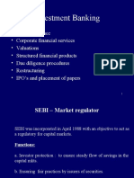 (3)Investment Banking
